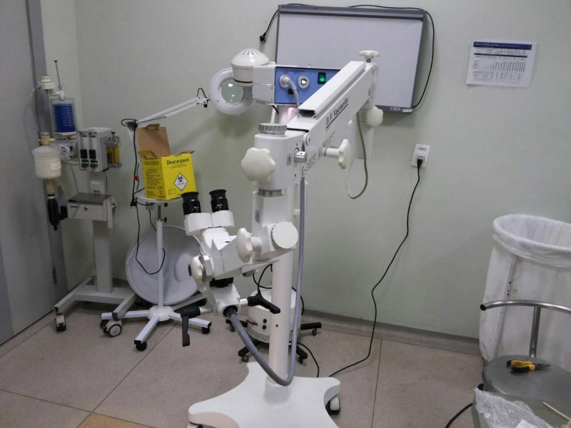 Compra de equipamentos médicos usados