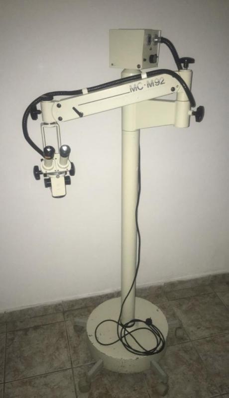 Venda de microscópio usado