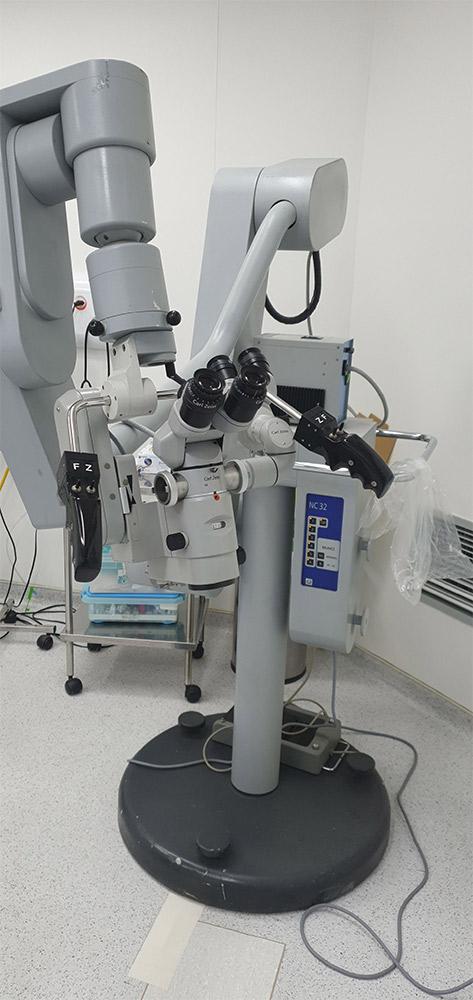 microscópio cirurgico
