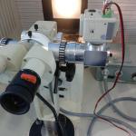 Manutenção de equipamento laboratório