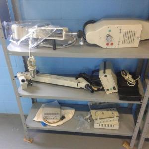 Manutenção de microscópio óptico